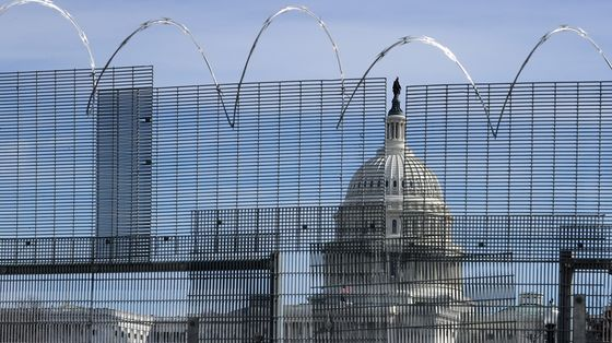 Fencing, Tightened Security at Capitol Staying in Place for Now