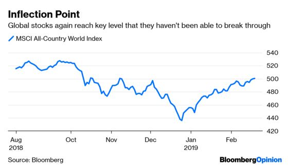 Global Stock Market Reaches Its Moment of Truth