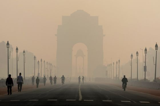 World's Dirtiest Air Gets Cleaner After India's Lockdown
