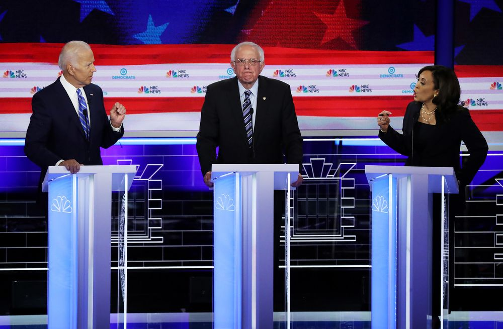 Debate With Biden-Harris Showdown Draws Bigger TV Audience