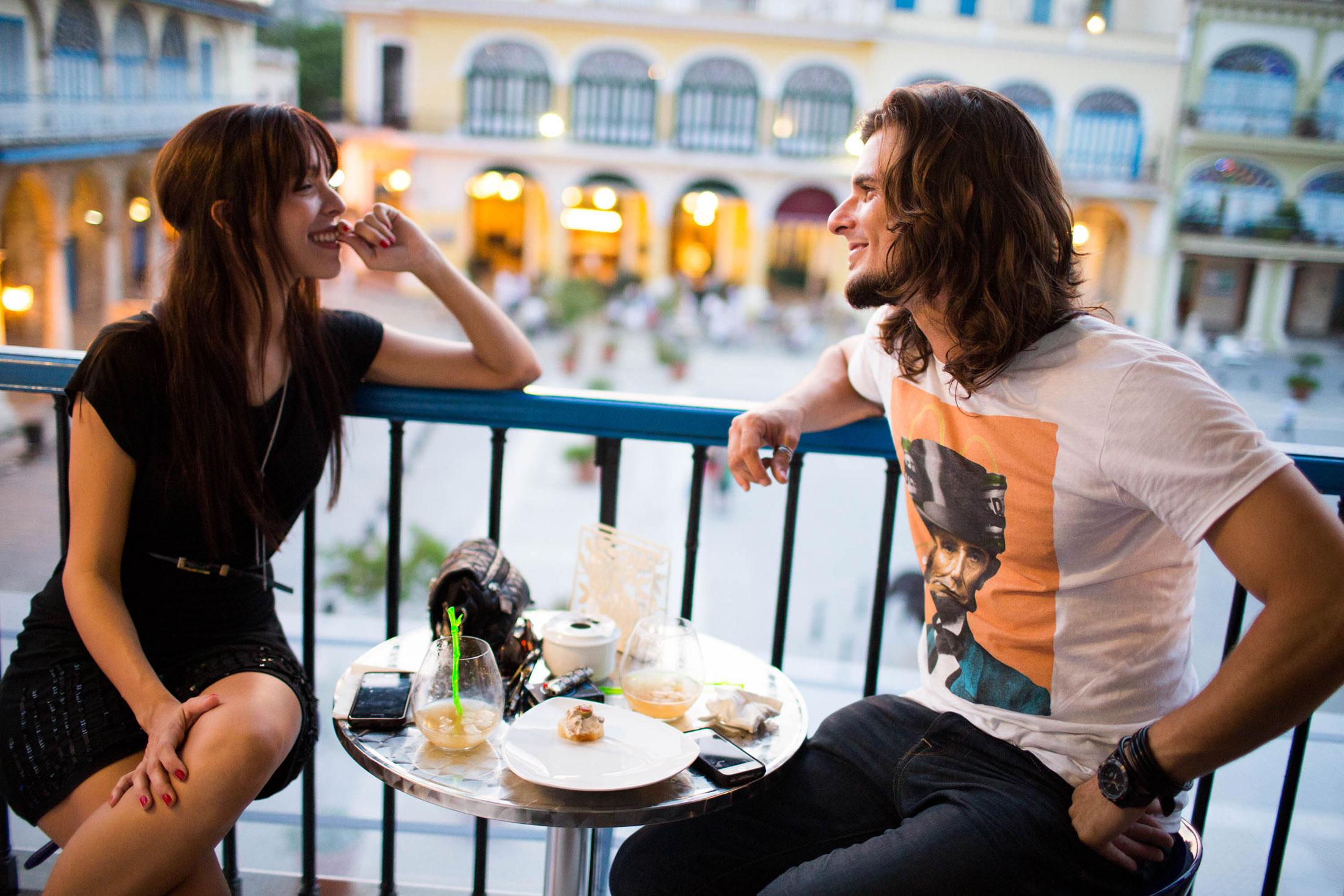 Claudia and Reynier