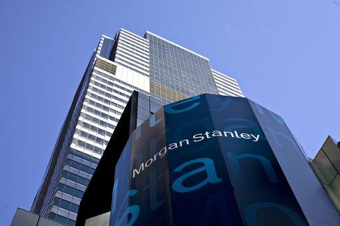 Morgan Stanley Sinks to Lowest Since 2008