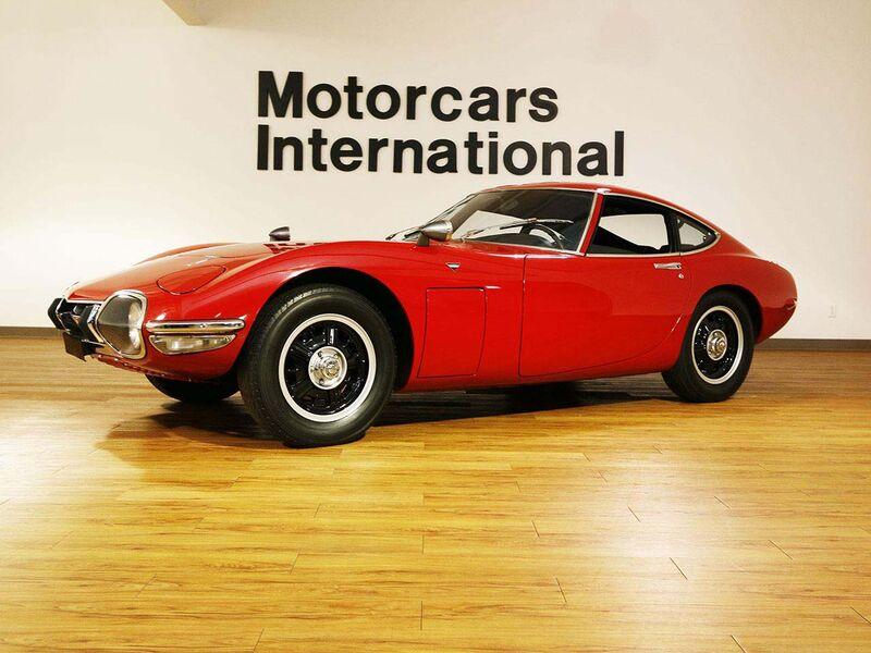 Vintage Toyota 2000GT: $1 Million Japanese Supercar James Bond ...
