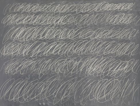 Cy Twombly,Untitled (New York City), 1968