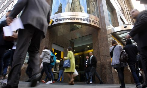 General Images of Commonwealth Bank of Australia Ahead of Full Year Results