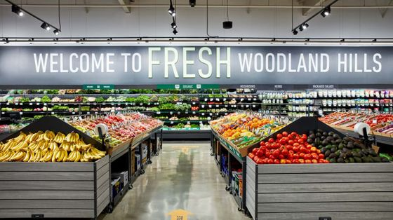 Amazon's New Fresh Supermarket to Open Soon in Los Angeles