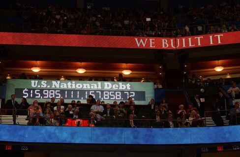 Debt Clock at the Republican Convention