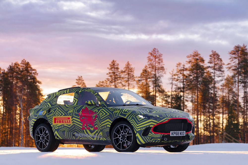 Aston Martin Stock >> Aston Martin Has A Lot Riding On Its New 189 000 Suv