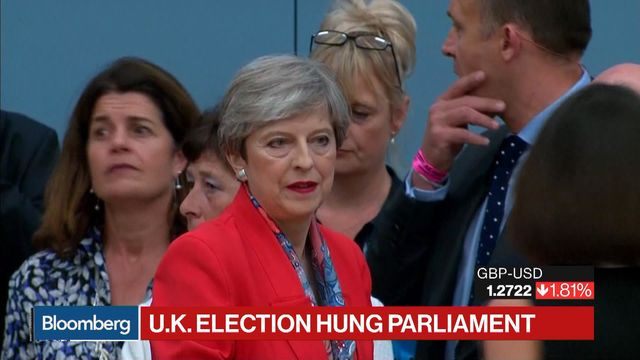 May fighting for survival after failed election