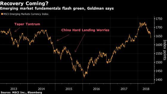 Goldman Says Emerging Markets Flash Green, Buy Local Debt