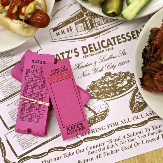 Katz's Deli Starts Subscription Service for Its Famous Pastrami