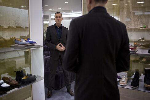 Barney's CEO Mark Lee