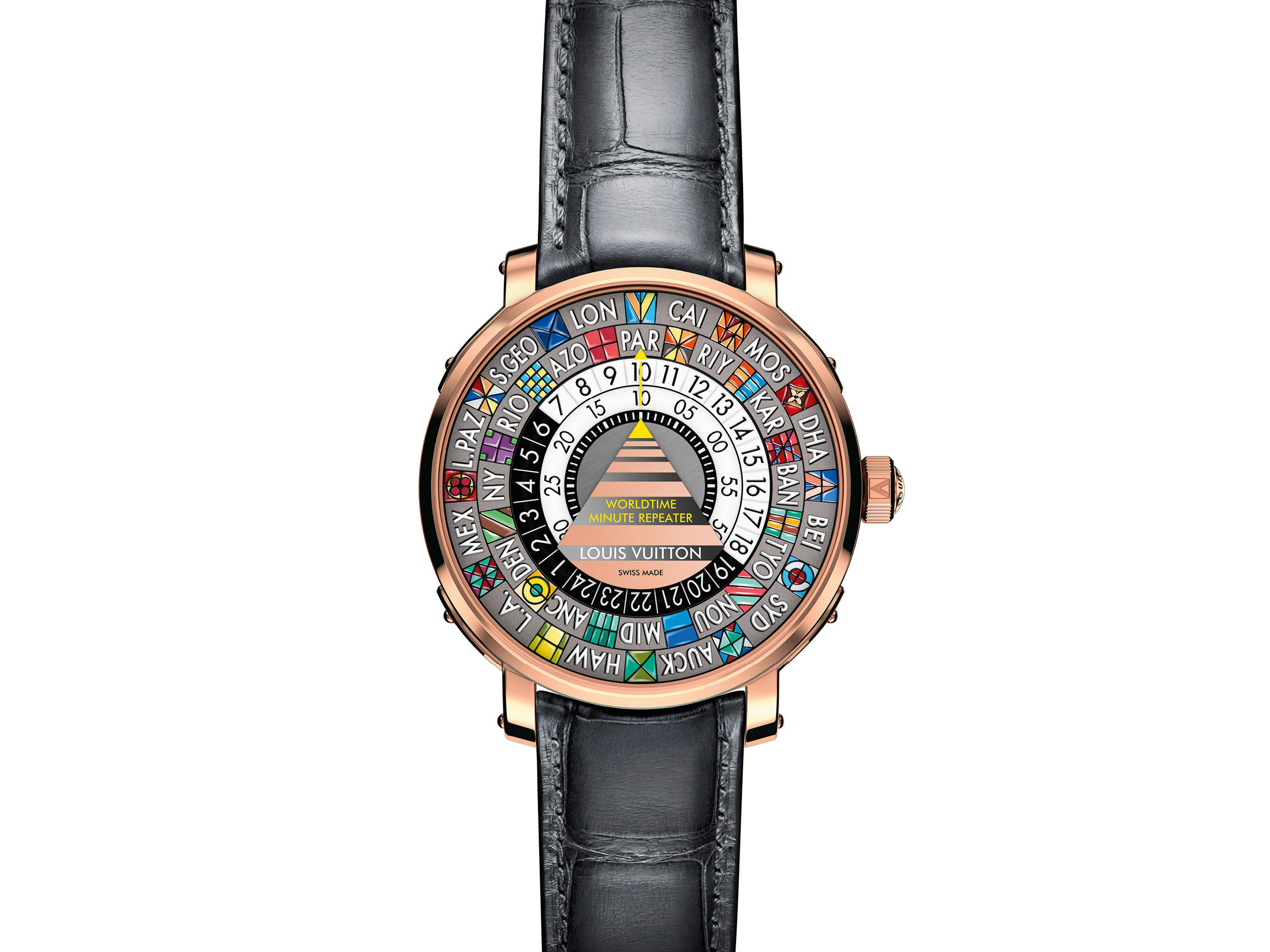 Louis Vuitton Escale Minute Repeater Worldtime Watch