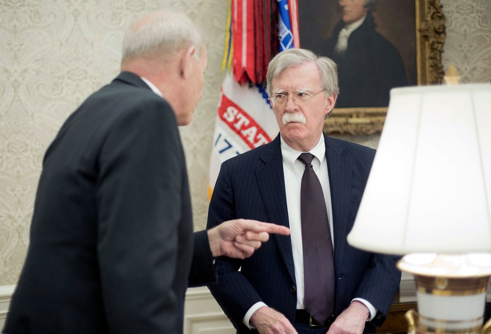 Kelly Bolton In Shouting Match As White House Tensions Flare