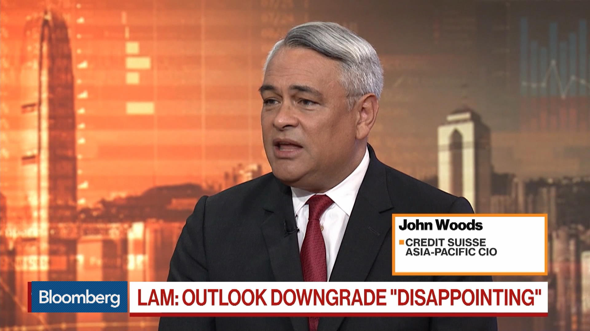 Credit Suisse Asia-Pacific CIO John Woods on Hong Kong Economy, Markets
