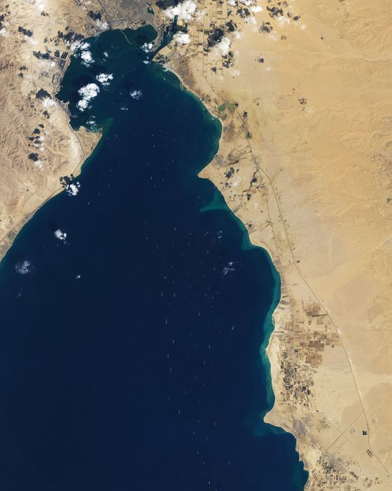 Six Days in Suez: The Inside Story of the Ship That Broke Global Trade