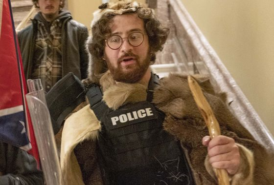 Capitol 'Caveman' Charged in Riot Is Son of New York Judge