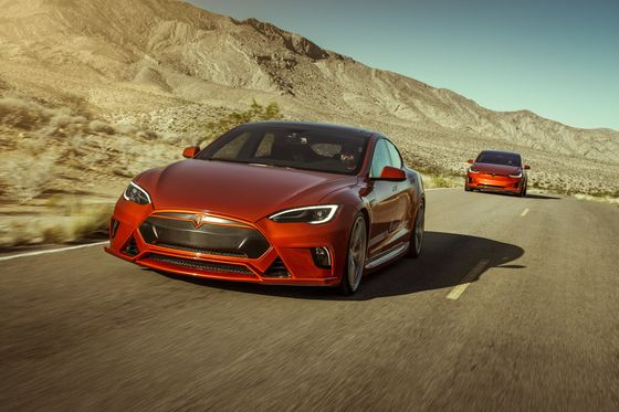 Tesla Fanatics Are Paying $50,000 to Hot-Rod Their Electric Cars