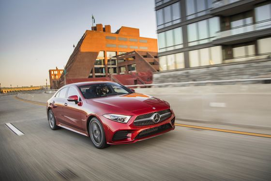 The Mercedes CLSHas a 'Spa'Tool That Can Soothe, Fix Posture