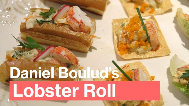 Daniel Boulud's Lobster Roll Recipes Are Easy, Party-Winning Bites