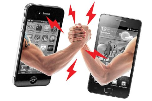 Apple vs. Samsung: The Cage Match Begins