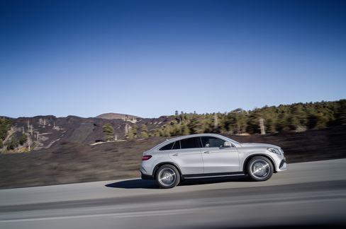 Coupe or SUV? The Mercedes GLE Coupe, unveiled in January, is the latest strange vehicle coming from Stuttgart.