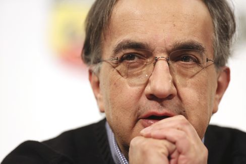 Fiat SpA CEO Sergio Marchionne