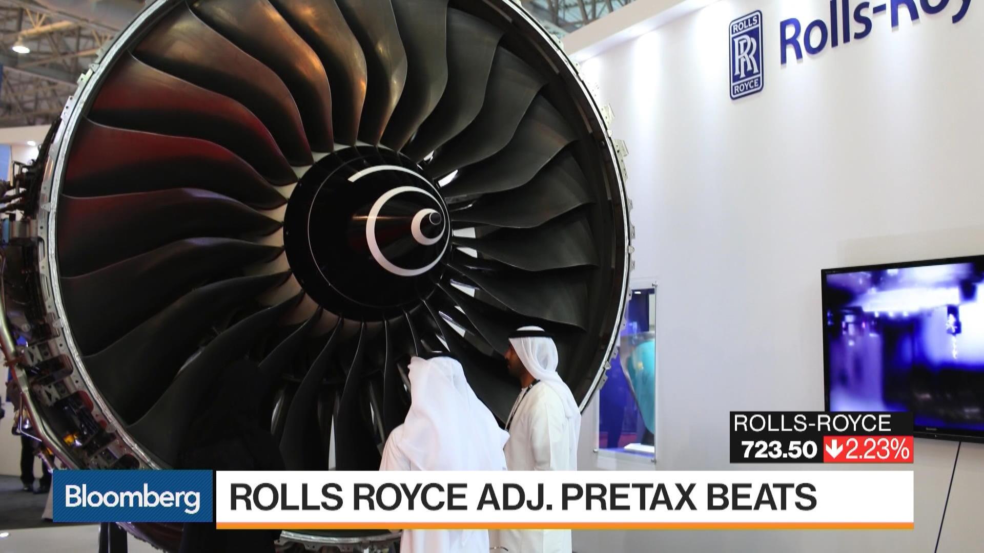 Rolls-Royce Mulls Disposal of Weaker Units as Profit Falls - Bloomberg