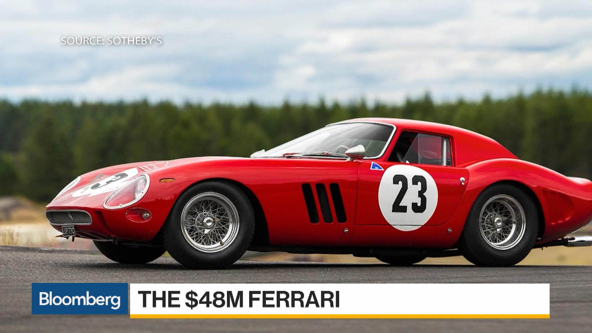Rare Ferrari 250 GTO Sells for Record $48.4 Million at