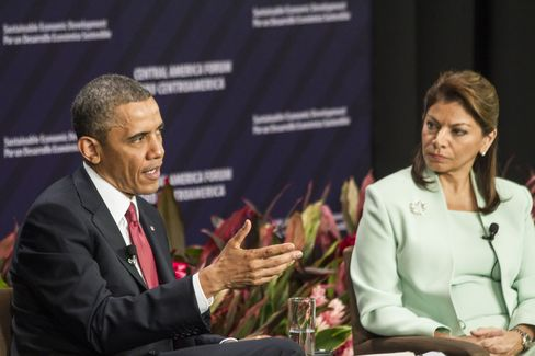 Obama Vows to Shift Focus on Central America to Economy