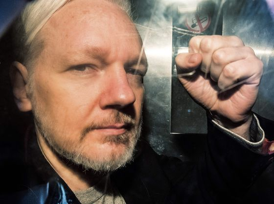 Assange Rape Inquiry Is Dropped in Sweden After Nine Years