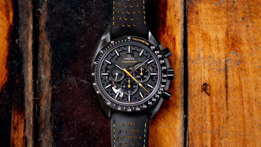 Omega Speedmaster Moonwatch Apollo 8 Dark Side Review