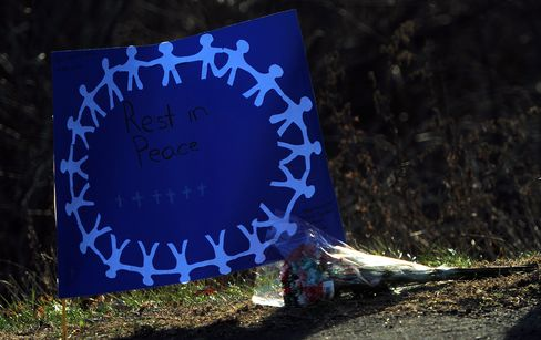 Tribute to Victims of School Shooting in Connecticut