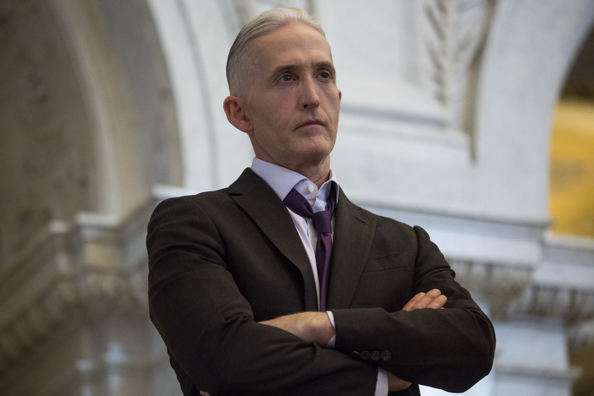 Trump Enlists Trey Gowdy to Help With Impeachment Fight