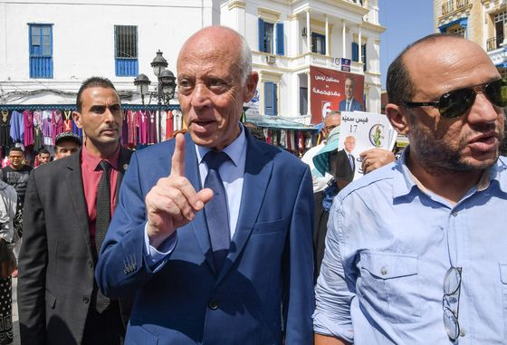 Robot Man, TV Mogul Prevail as Tunisians Rage Against the System