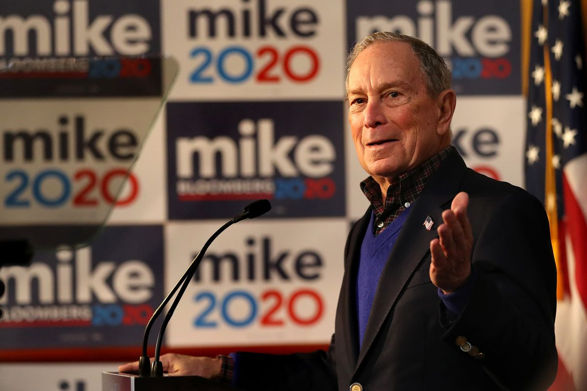 Bloomberg Pitches Program to Boost Black Businesses, Homeowners