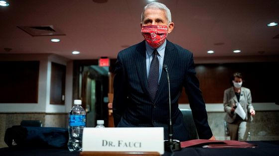 Fauci Says U.S. Risks 100,000 Daily Cases in Dire Warning