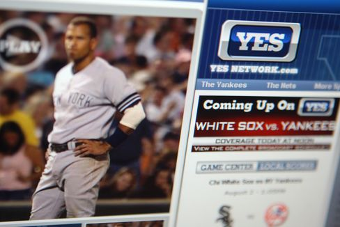 News Corp. Said Close to Buying Stake in Yankees' Sports Network