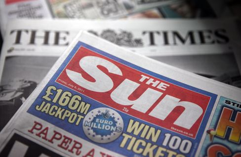 News Corp. Said to Probe E-Mails at U.K. Titles