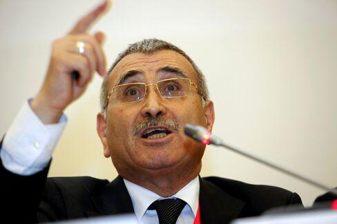 Turkish Central Bank Governor Durmus Yilmaz