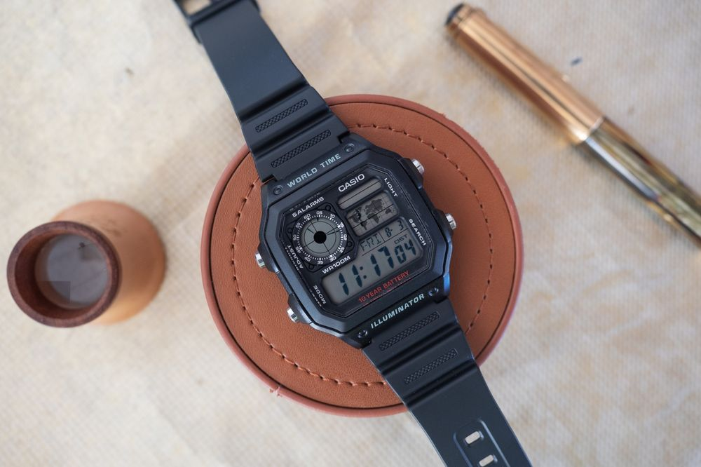 Casio AE1200WH-1A World Timer Watch Review - Bloomberg