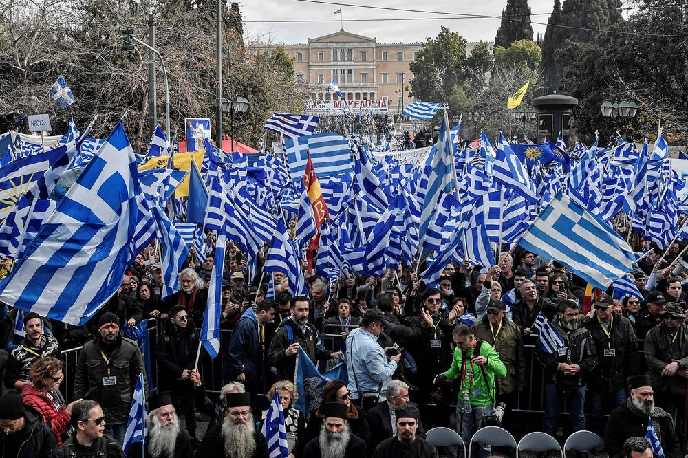 Greeks Marching as Storm Grows Over Tsipras's Macedonia Deal