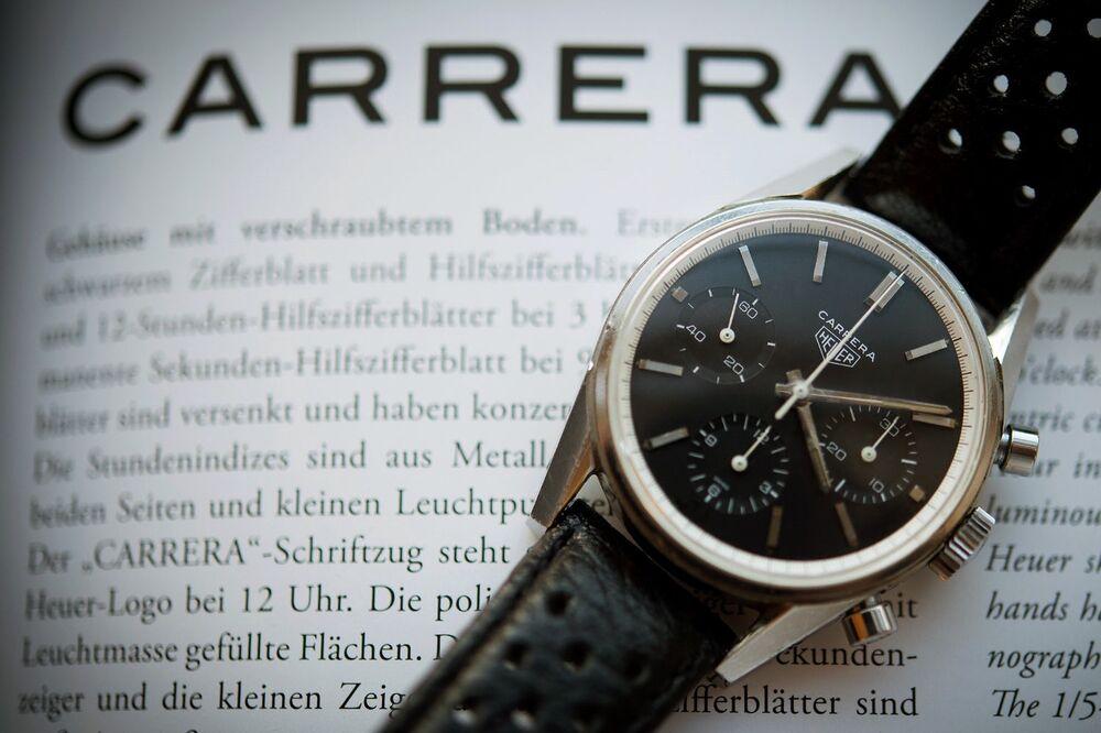 Heuer crown steel original period watches heuer