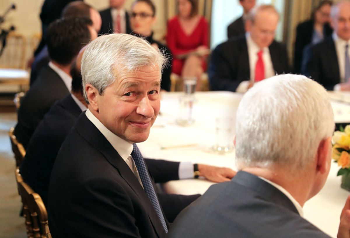 Jamie Dimon Is Right to Raise the Alarm