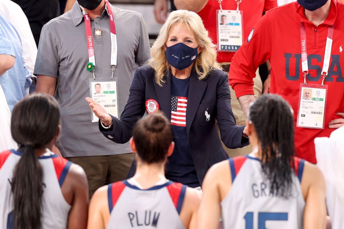 Social Media Buzz: Jill Biden at Olympics, Sydney Covid Protest