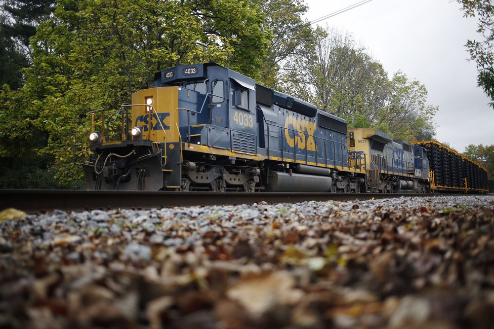 CSX Surges to Record High as Railroad Gets More Efficient