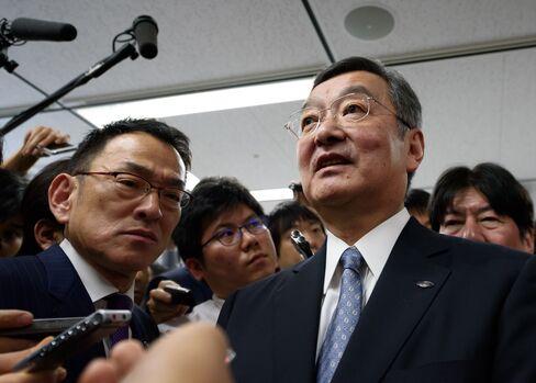 Sharp Corp. President Kozo Takahashi