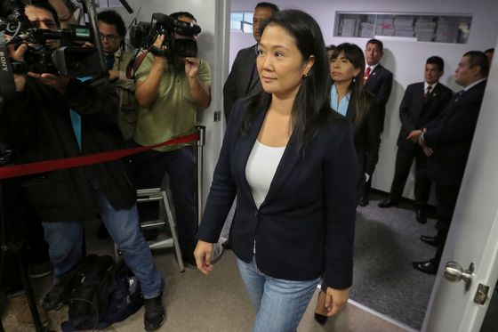 Peru Opposition Leader Fujimori Jailed in Odebrecht Probe