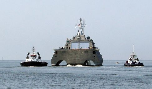 Navy's Shallow-Water Ship Armed With Double Political Defenses