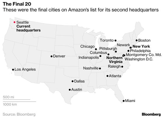 Snubbed by Amazon, Newark Pins Its Hopes on Landing the Next Prize